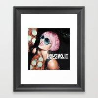 UOYEVOLI #4 Framed Art Print