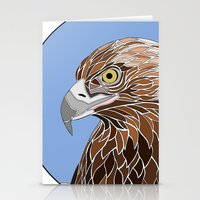Bird of Prey Stationery Cards