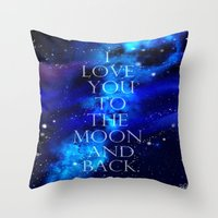 I Love You.. Throw Pillow