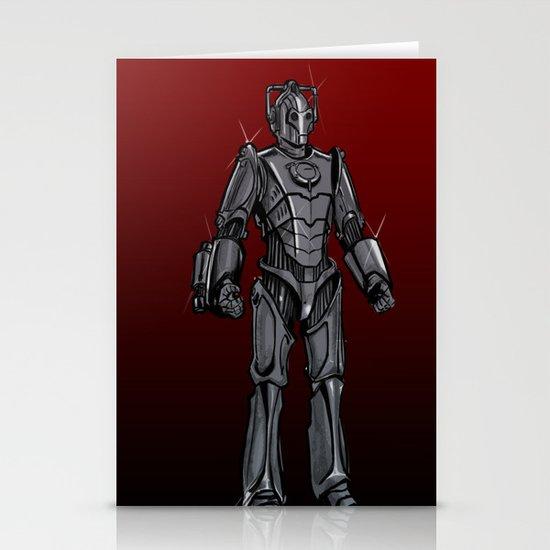 Cyberman... Stationery Card