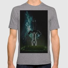 Savior of Hyrule Mens Fitted Tee Athletic Grey SMALL