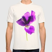 Iris Mens Fitted Tee Natural SMALL