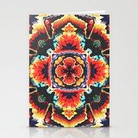 Geometric Motif Stationery Cards
