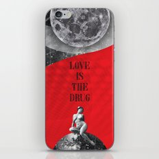 Love is the drug (Rocking Love series) iPhone & iPod Skin