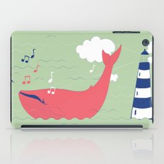 The Singing Whale iPad Case