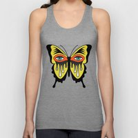BUTTERFL-EYE Unisex Tank Top