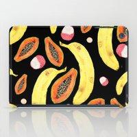 Tropical Juice (black) iPad Case
