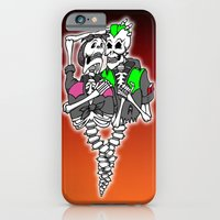 iPhone & iPod Case featuring Psychobilly intertwined by Andrew Mark Hunter