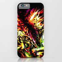 iPhone & iPod Case featuring Metroid Metal: Ridley- Through the Fire.. by LightningArts