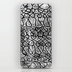 Digital Monoprint Pattern Print. iPhone & iPod Skin
