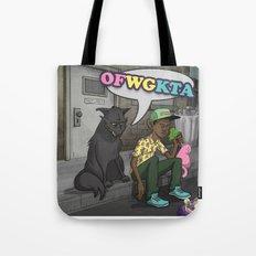Tyler, The Creator of Odd Future OFWGKTA Tote Bag