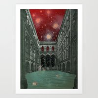 atmosphere 30 · Electric Requiem Art Print