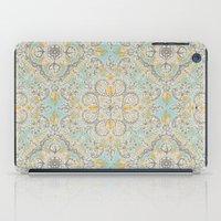 Gypsy Floral In Soft Neu… iPad Case