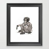 Downtime Framed Art Print