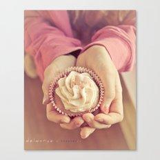 Cupcake in waiting Canvas Print