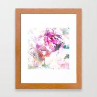 Rose Book 4 Framed Art Print