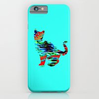 Psychedelic Cat iPhone 6 Slim Case