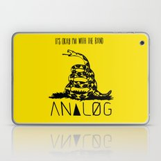 Snake and Band (Analog Zine) Laptop & iPad Skin