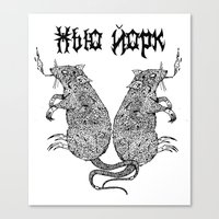 Rat Canvas Print