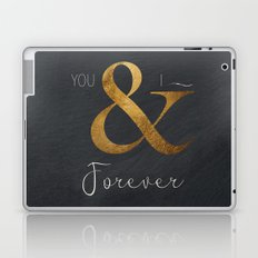 Typography Forever  Laptop & iPad Skin