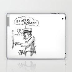 All Art Is Useless Laptop & iPad Skin