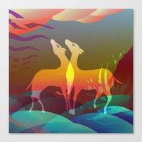 Space Of Non-Duality Canvas Print