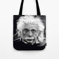 Speed Portraits: Einstei… Tote Bag