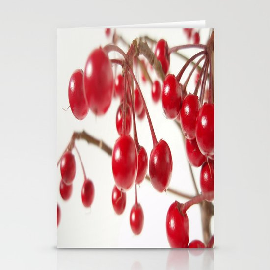 Ardisia Crenata Stationery Card