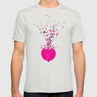 Multiplication Mens Fitted Tee Silver SMALL