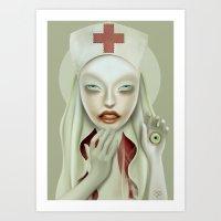 The Treatment Art Print