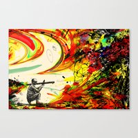 Bazooka Overload Canvas Print