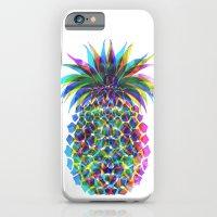Pineapple CMYK iPhone 6 Slim Case