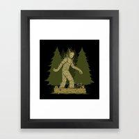 BigGroot Framed Art Print