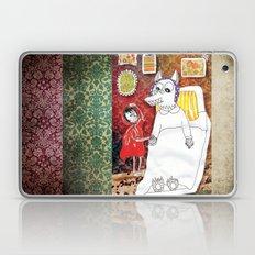 Girl & Wolf Laptop & iPad Skin