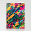 Wild Abstract Stationery Cards