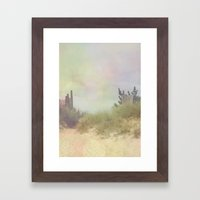 The Waste and the Fever Framed Art Print