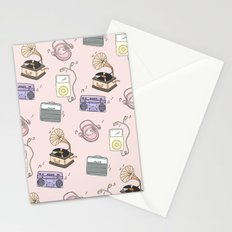 MUSIC PLAYERS Stationery Cards