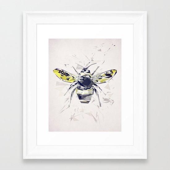 BumbleBee Framed Art Print
