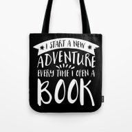 I Start A New Adventure … Tote Bag