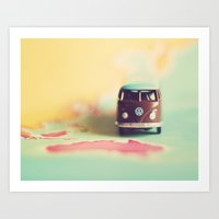 VW Down Under Art Print
