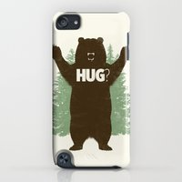 iPod Touch Cases featuring Bear Hug? by Fanboy30