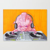 DJ Krang Canvas Print