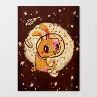 Jade Rabbit  Canvas Print