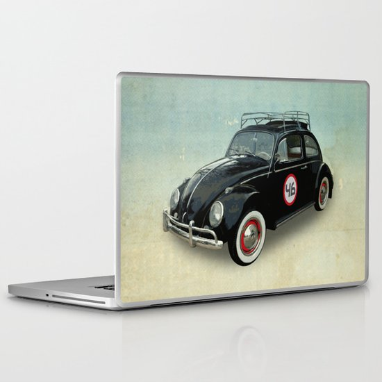 Number 46 -VW Beetle Laptop & iPad Skin