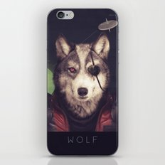 Star Team - Wolf iPhone & iPod Skin