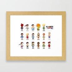 Super Street Fighter II Turbo Framed Art Print