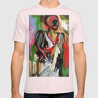 CHARISMA Mens Fitted Tee Light Pink SMALL