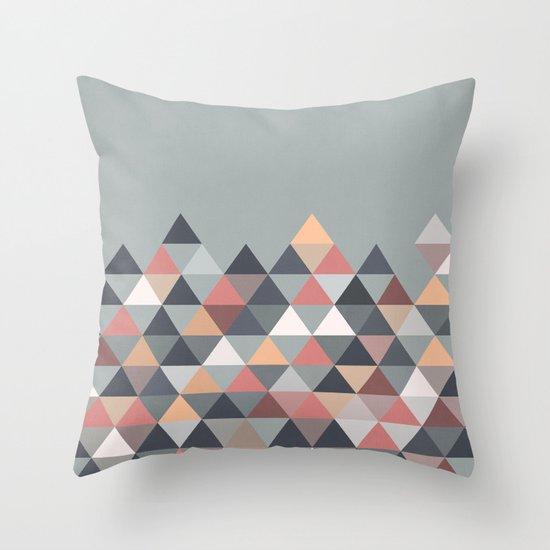 Nordic Combination IV Throw Pillow