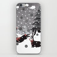 Snow Carnival iPhone & iPod Skin