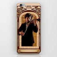 Art Nouveau: The Violini… iPhone & iPod Skin